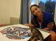 site artistes oeuvre - Sofie Azerh