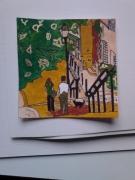 tableau villes paris montmartre la butte montmartre ville : Montmartre