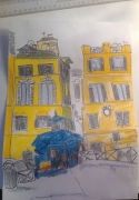 tableau villes rome ville rue de rome : rue de Rome