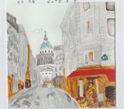 tableau villes pantheon paris ville : La Panthéon