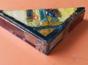 artisanat dart autres triangle boite bijoux utilitaire : Le Citrangle
