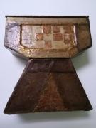 artisanat dart autres style medieval boite ,a bijoux marron et beige utilitaire : Arthur