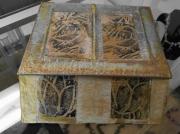 artisanat dart animaux oiseaux gravure boitier bijoux : Le Pompéi