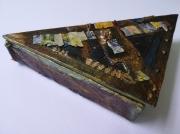 artisanat dart autres triangle boite collage bijoux : Le Padma