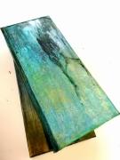 artisanat dart abstrait bijoux boite utilitaire rectangulaire : Écho d`arbre