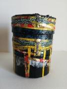 artisanat dart autres boite tambour boite ,a bijoux boite utilitaire boite decorative : Petit Damaru