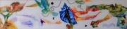 tableau marine mer coquillages couleurs joie : Fantaisie marine