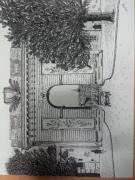dessin architecture croix porte batiment chalons : La porte St Croix de Châlons en champagne