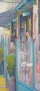 tableau villes cafe rue paris restorant : A COTE CAFE DE LA PAIX