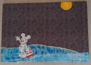 tableau personnages mickey surf longboard andless summer : What i ride too 13-005-2019