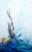 tableau abstrait abstraction lyrique abstrait lyrique peinture abstraite paysage abstrait : Untie