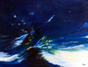 tableau paysages abstract expressioni abstraction lyrique abstract landscape paysage abstrait : Contemplation opus II