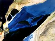 tableau abstrait abstraction lyrique abstrait lyrique peinture abstraite paysage abstrait : Contemplation Opus III