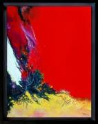 tableau abstrait abstraction lyrique abstrait lyrique peinture abstraite paysage abstrait : CT102019