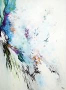 tableau abstrait abstraction lyrique abstrait lyrique peinture abstraite paysage abstrait : L'écume des silences