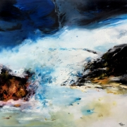 tableau paysages abstract expressioni abstraction lyrique peinture abstraite : Opus I