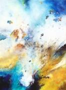 tableau abstrait abstraction lyrique abstrait lyrique peinture abstraite paysage abstrait : La nitescence des origines