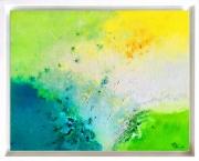 tableau abstrait abstraction lyrique abstrait lyrique abstract landscape paysage abstrait : CT072020