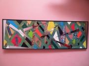 mixte abstrait : MIROIRE TRIANGULAIRE