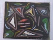 tableau abstrait : Afrique