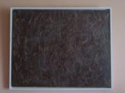 tableau abstrait : patine