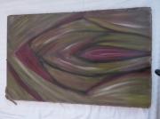tableau abstrait : la fleche
