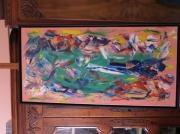 tableau abstrait : Elucubration