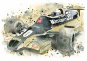 tableau sport formule 1 jochen mass : Jochen Mass