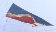 tableau paysages paysage drone limite couleurs : DRONE 01