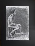 dessin personnages modele vivant nu masculin dessin fusain nu croquis nu homme : l'adolescence