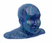 Homme bleu