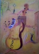tableau autres musique : Musique à Paris