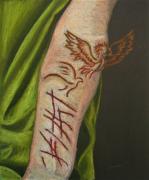 dessin personnages automutilation cicatrice oiseau douleur : Self-harm