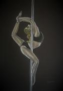 dessin personnages danse mouvement femme souplesse : Mouvement 1