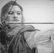 dessin personnages robin des bois arc fleche femme : Si Robin des bois était une femme