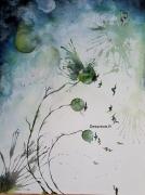 tableau oiseaux poetique onirique : My army underneath