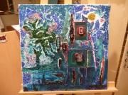 tableau abstrait sarah phillips peinture bijoux : recherche recomfort