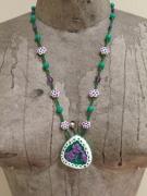 bijoux fleurs sarahp phillips violettes bijoux : LES VILOLETTES DE MON PASSER