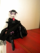 autres personnages poupee gothic doll burton : malicia