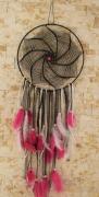 artisanat dart dentelle coton plumes perles : ying
