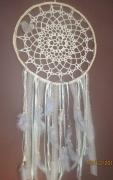 artisanat dart coton crochet plumes perles : fleu