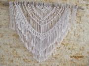 artisanat dart autres coton perles blanc bois fotte : neige