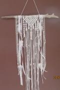 artisanat dart perles plumes coton bois flotte : rêve