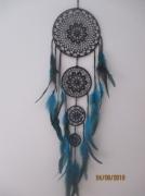artisanat dart reves crochet coton plumes : rêverie