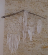 artisanat dart crochet coton bois flotte dentelle : geant