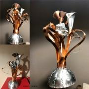 sculpture fleurs sculpture fleur : anis