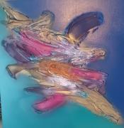 tableau abstrait : 1