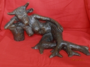 sculpture nus nu femme taureau : nu femme taureau