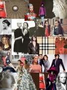 art numerique personnages collage numerique mode femme : Around Dolce