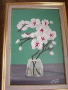 tableau fleurs : L'orchidée